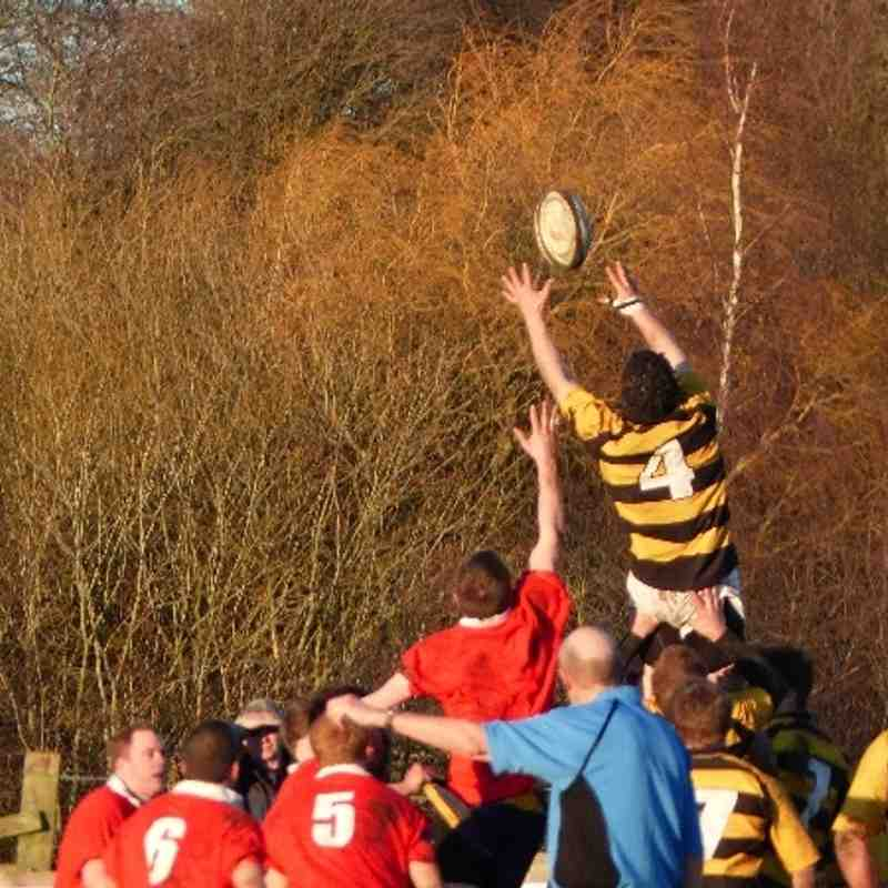 Knaresborough V WRUFC 1st XV 11-01-2014