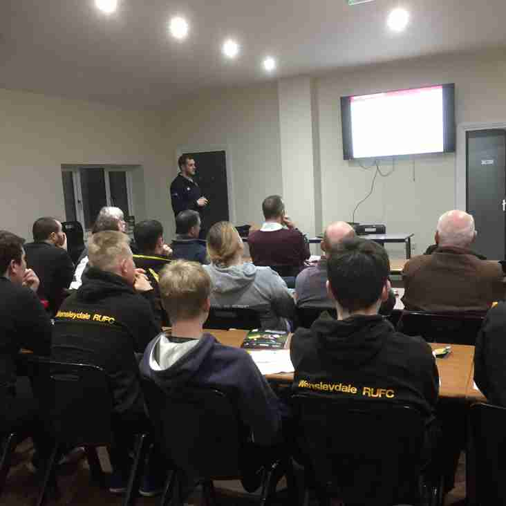 Wensleydale Rugby CPD Event