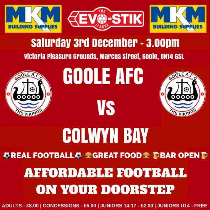 Goole AFC Vs Colwyn Bay