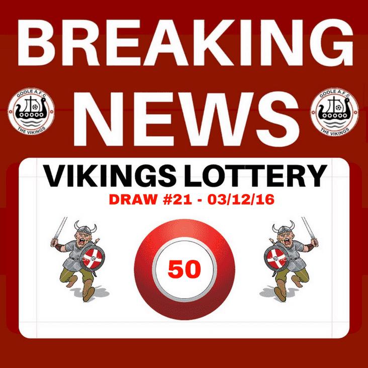 Vikings Lottery - 03/12/16