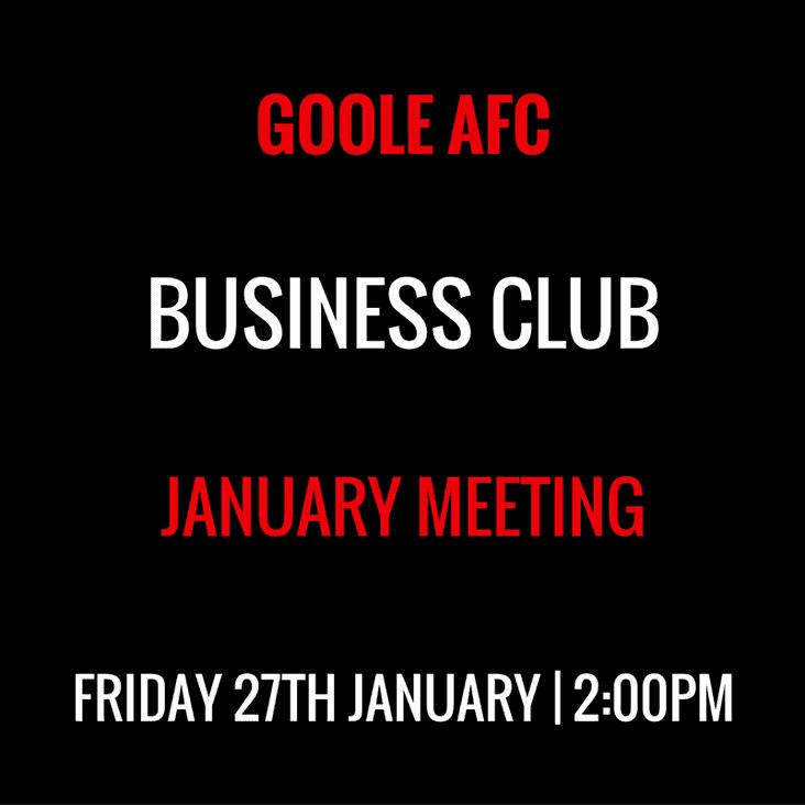 Business Club - January Event