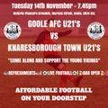 UP NEXT: Knaresborough Town ⚽️
