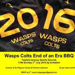 Colts 2015-16 Summer BBQ