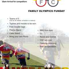 PRUFC's Family Olympics Funday