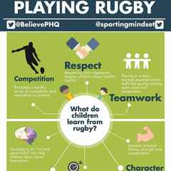 WHAT DO CHILDREN GET OUT OF PLAYING RUGBY