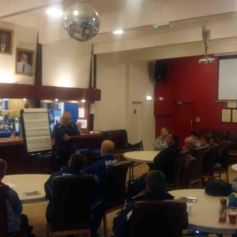 BERFC Coach The Coaches Session - Harry Harrison - 30/10/17
