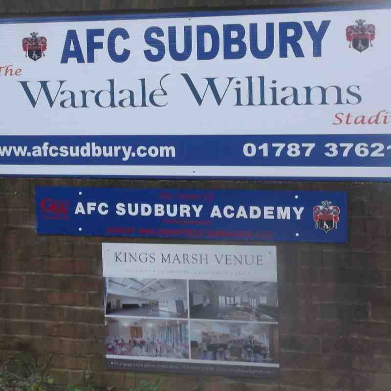 AFC Sudbury Reserves 0 v The Hares 7 (Yes seven!!!!!)