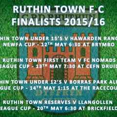 Cup Finalists - 2015 / 16