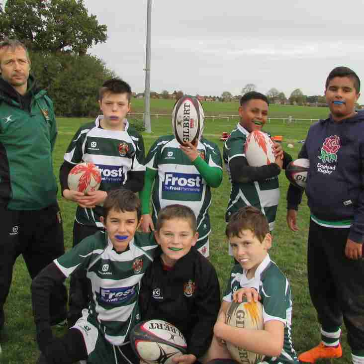 U12s No Rugby 5th May