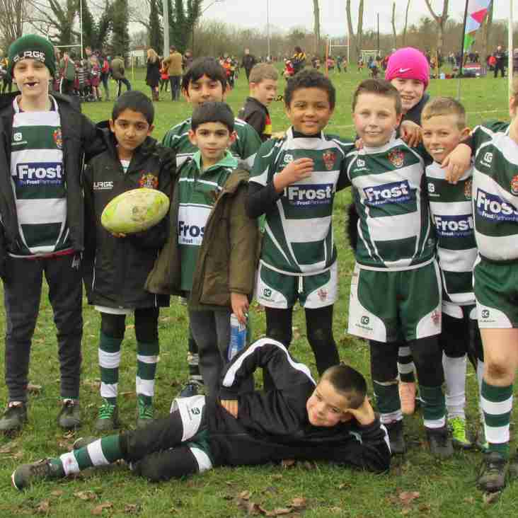 U9s HOME to St Bernard's Prep 17th March