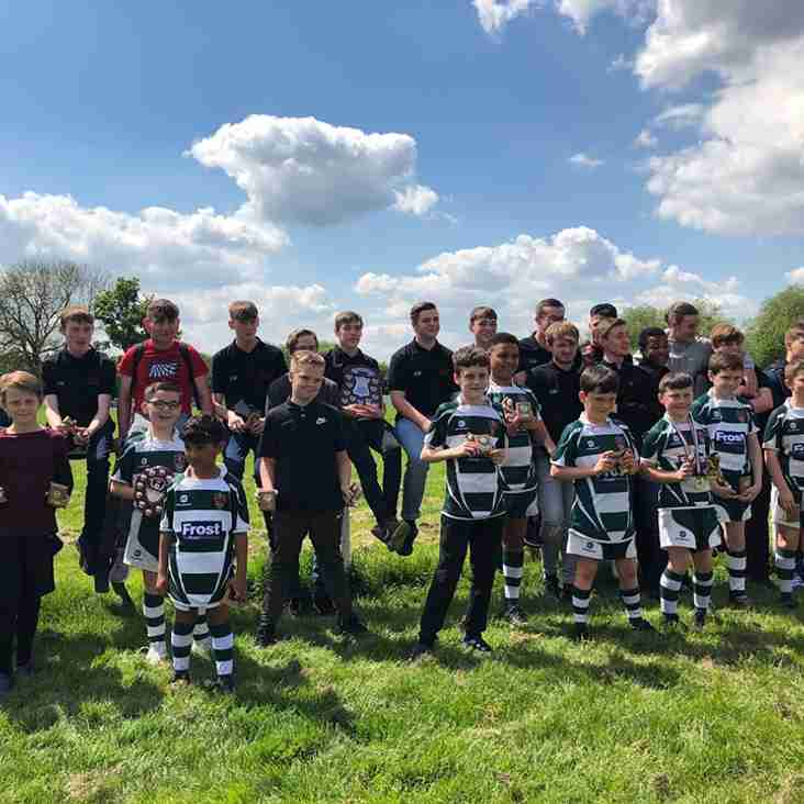 U10s Awards Winners 2018/19