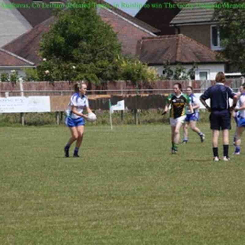 Tara defeated by St Joseph's from Aughavas, Leitrim in Ruislip 27-6-2015 Gerry Duignan Memorial Cup
