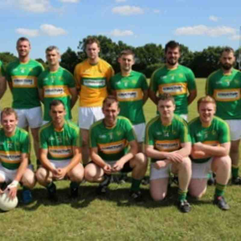 Tara Senior Men defeated Cú Chullaines in Greenford on the 5-7-2015