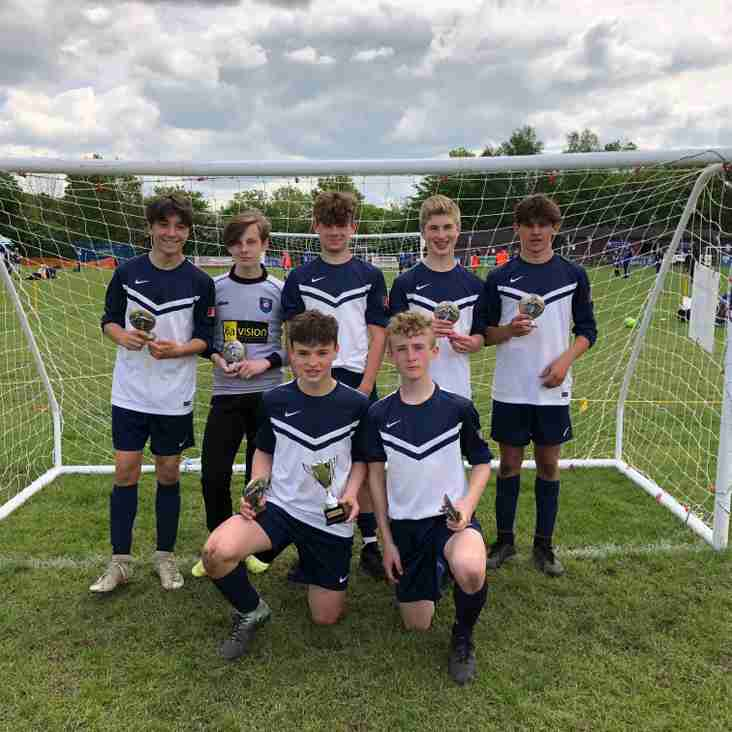 Whites win the thatcham tornados tournament