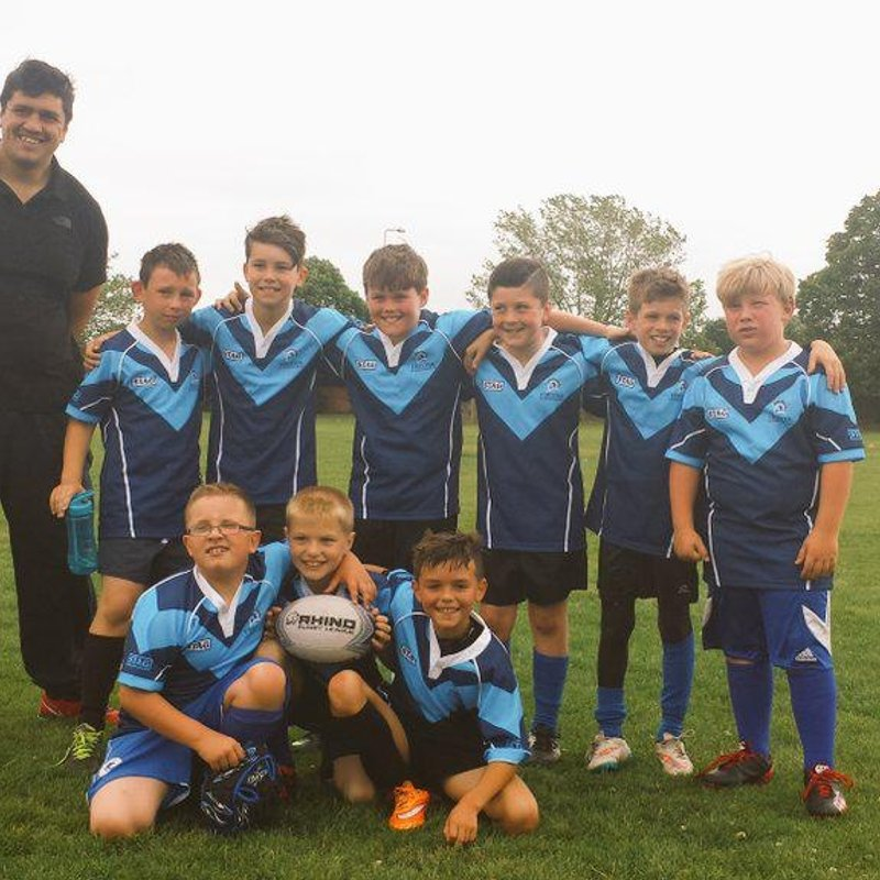 Under 9s lose to Wigan St Judes Maroons 11 - 1