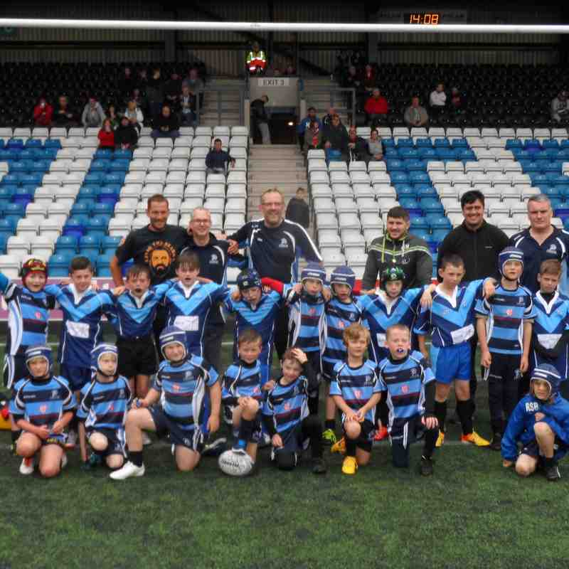 Club trip to Widnes Vikings versus Salford City Reds