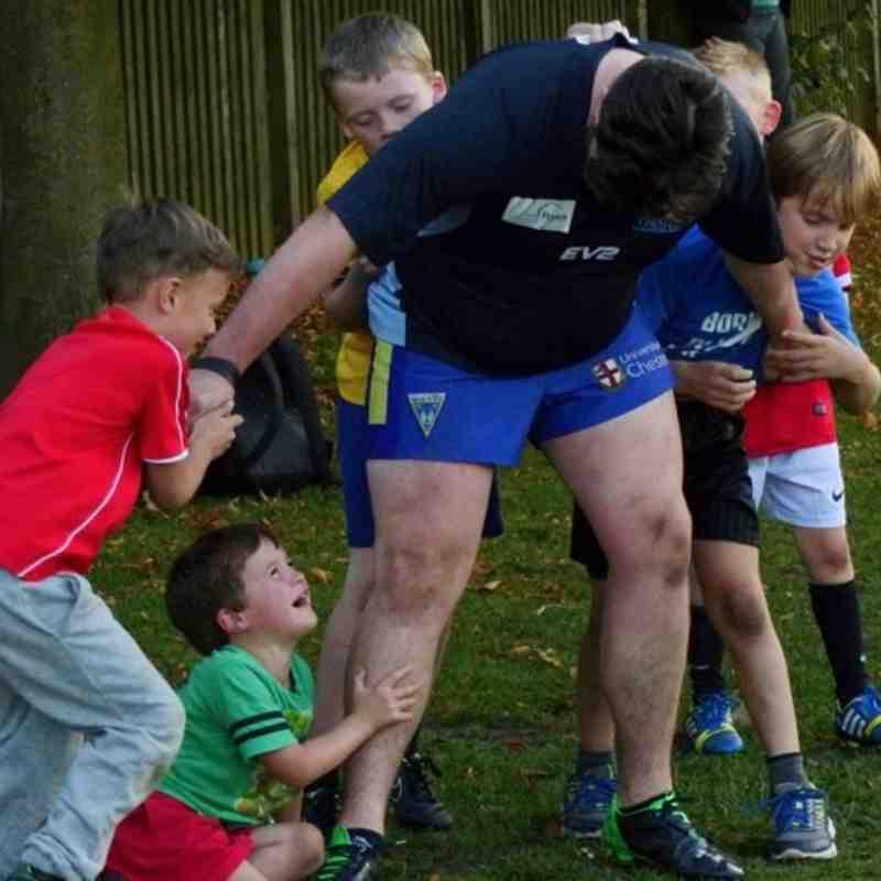 Mini Gladiators training