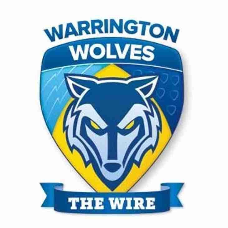 Warrington Wolves coach education