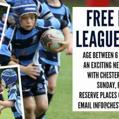 Free junior rugby league taster session