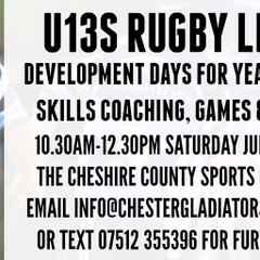 Free development days as new U13s team launches