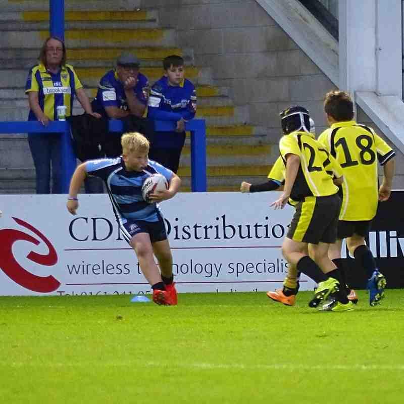 Chester Gladiators U9s v Culcheth Eagles