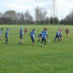 Chester Gladiators U10s v Latchford Giants