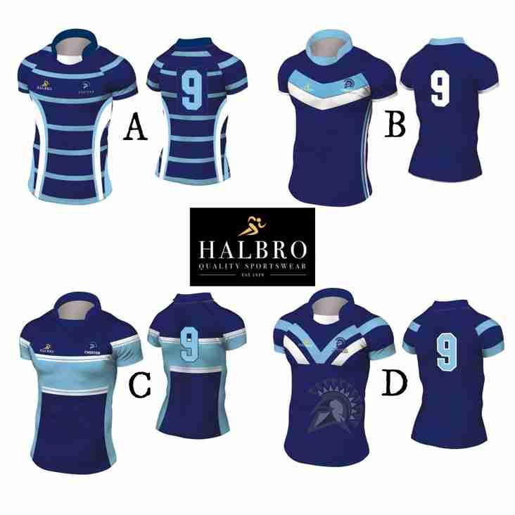 Vote for the Gladiators 2018 kit design
