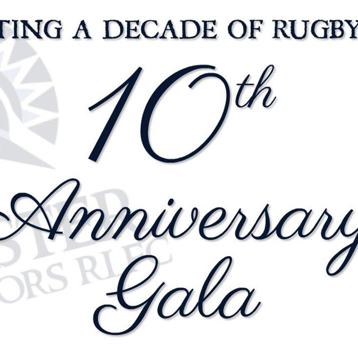 Chester Gladiators 10th Anniversary Gala<