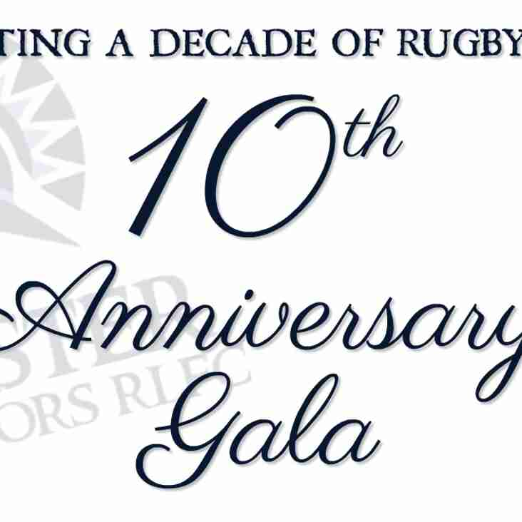 Chester Gladiators 10th Anniversary Gala