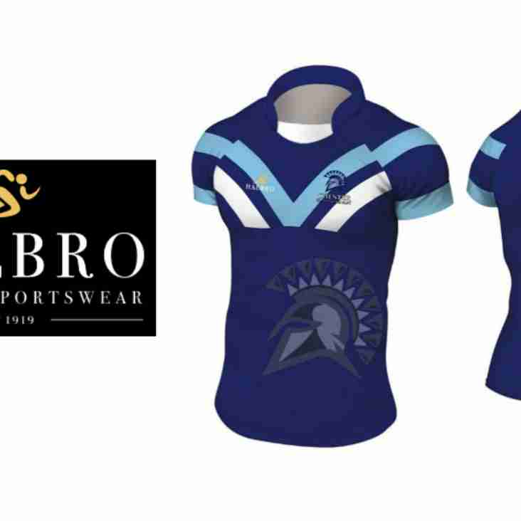 Winning design revealed in Gladiators kit vote