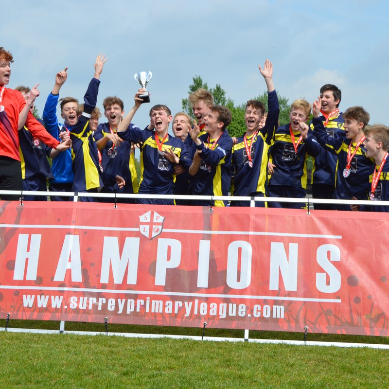 U16 Inter Cup Winners!