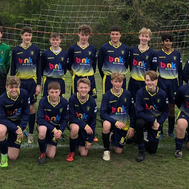U15 Spitfires : Winners of the 2018/19 Premier Division