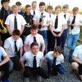 Under 14's Celebrate First Silverware