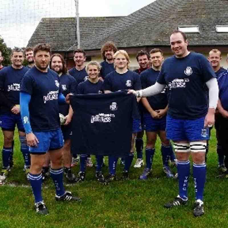 Totnes 1st XV Sponsored warm-up T-Shirts