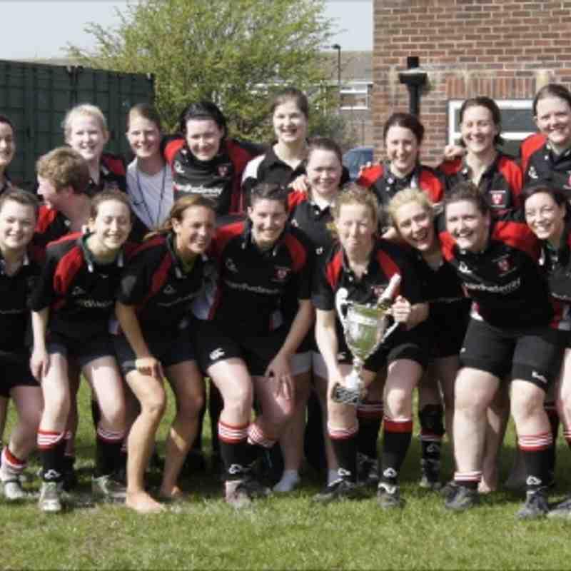 Ladies Undefeated Champions 2010/11