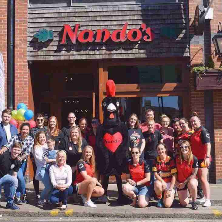 Flames and Nando's - A winning combo!