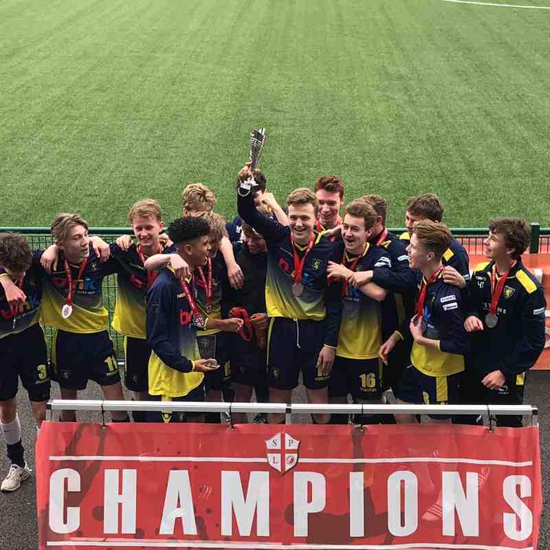 Windlesham Lions Cup Winners