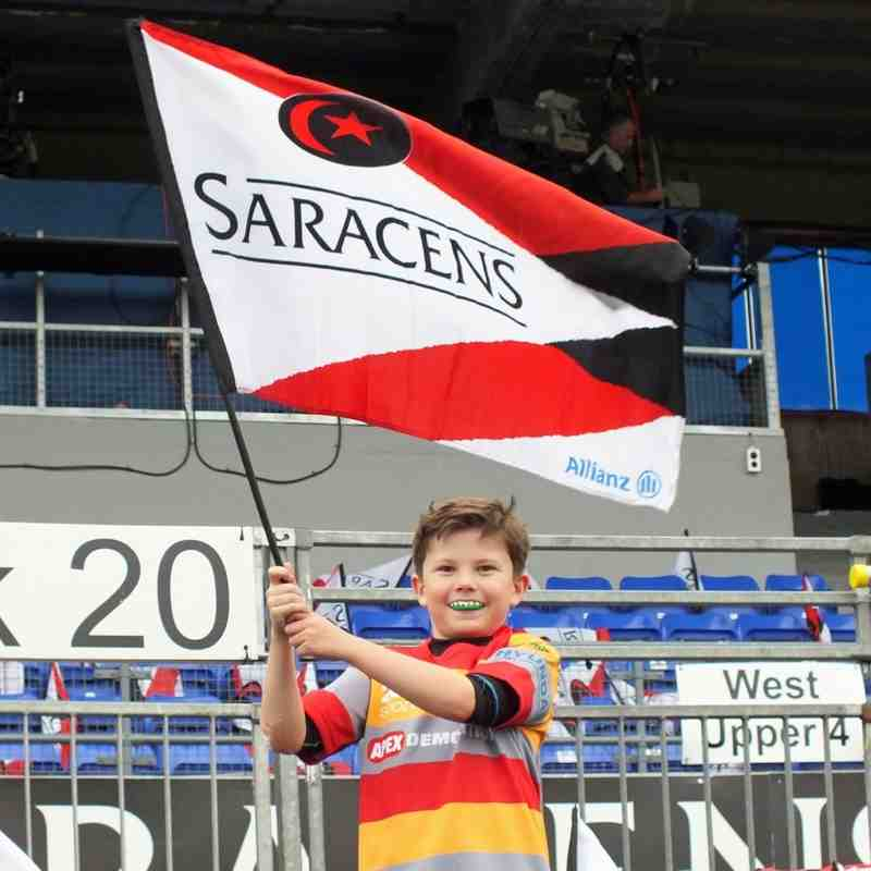 Under-10s at Saracens 18-Oct-14