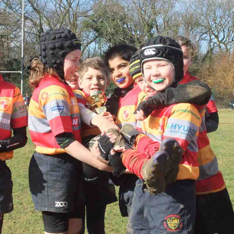 Under 10s Team Ellis beat Lions, 01-Mar-15