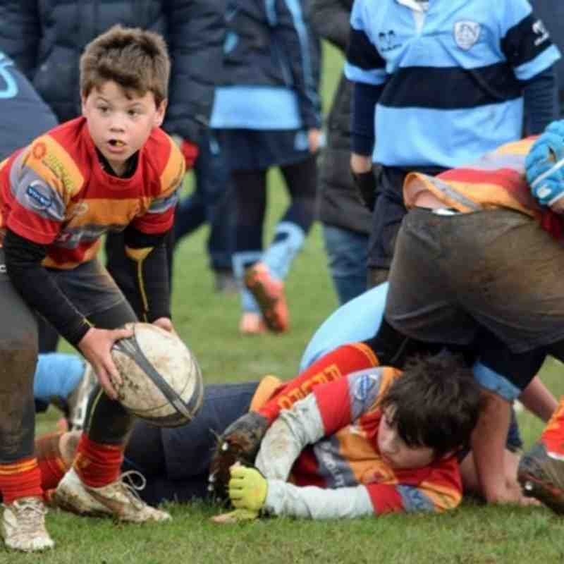PRUFC under-11s away at St Neots 07-Feb-1