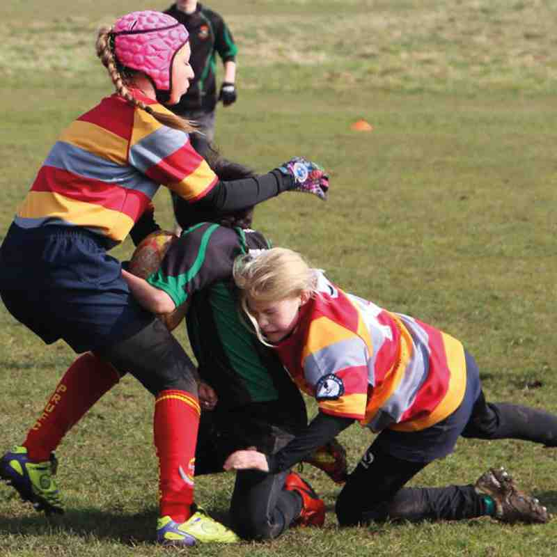Tackle like a girl!