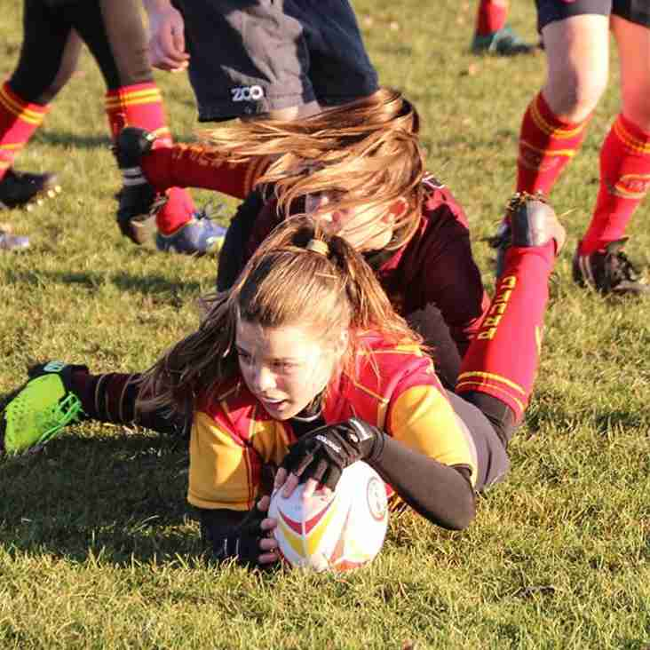 Under-13 Girls hit top form
