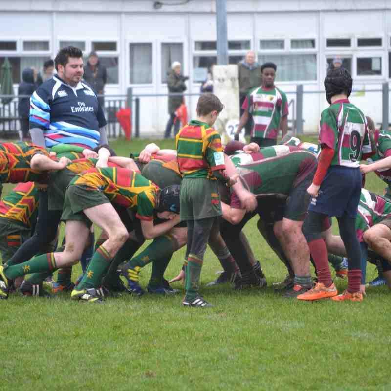 Moortown U14's v Selby 31st Jan 2016