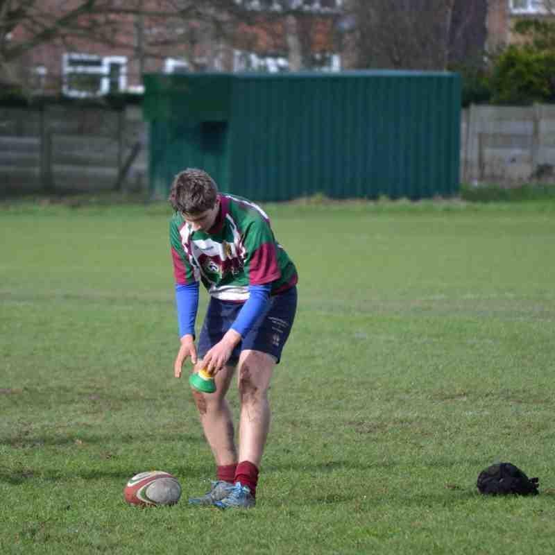 Moortown U14's v Harrogate :Bowl Semi-Final