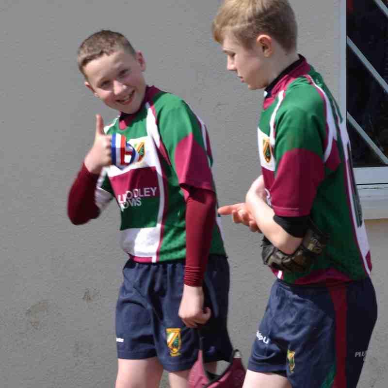 U14's v Malton & Norton Yorkshire Bowl Final 17th April 2016