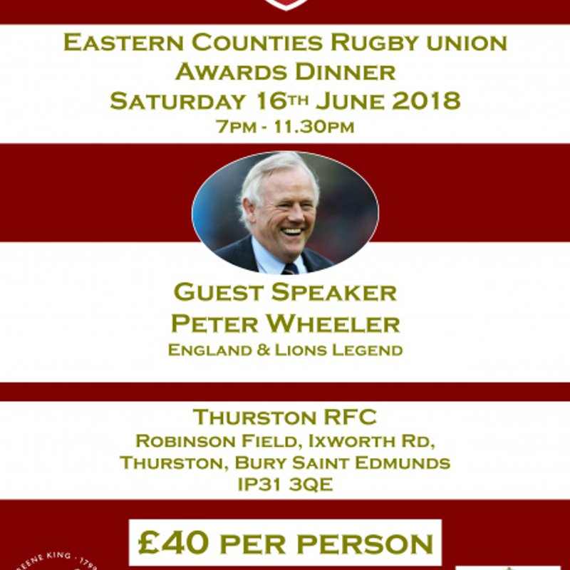 Eastern Counties Annual Awards Dinner 2018