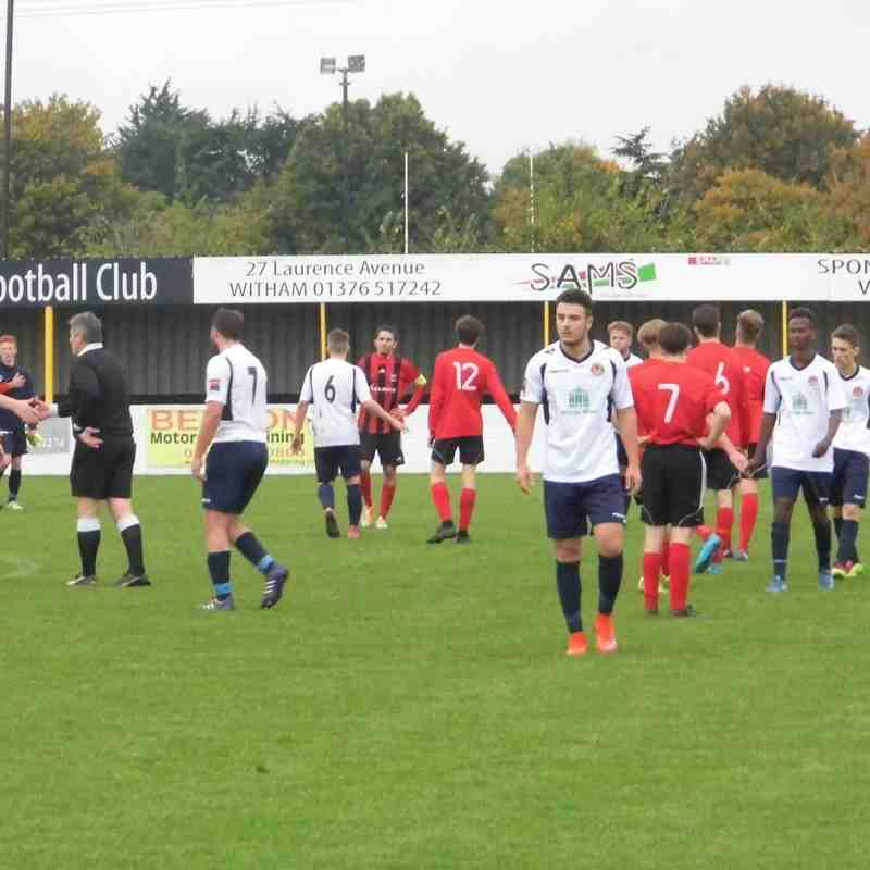 Witham Town Reserves v Saffron Walden 24.10.15