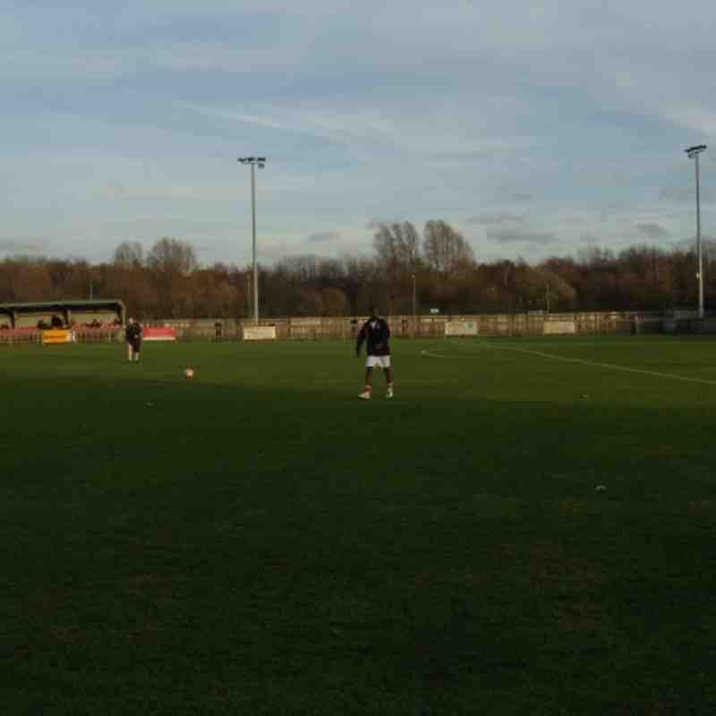 Uxbridge FC v Histon FC  FAT-3Q Saturday 26th Nov 2011 Result 2-1