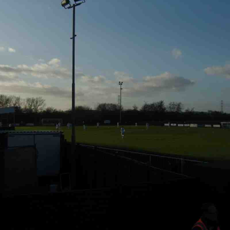 Aylesbury FC v Uxbridge FC EL-1C Saturday 3rd December 2011 Result 0-1