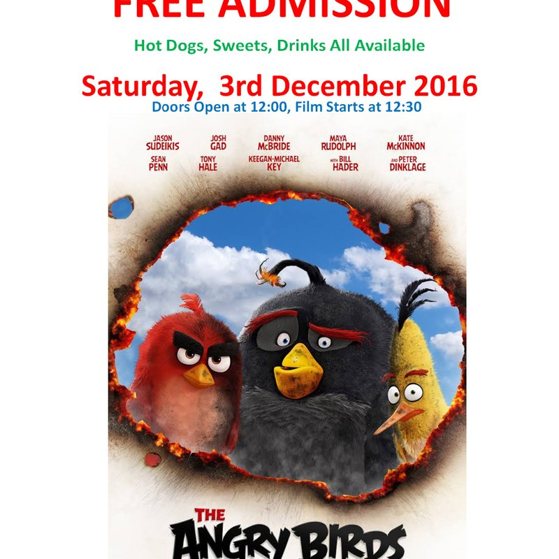 TRFC Kids Film Club - The Angry Birds Movie